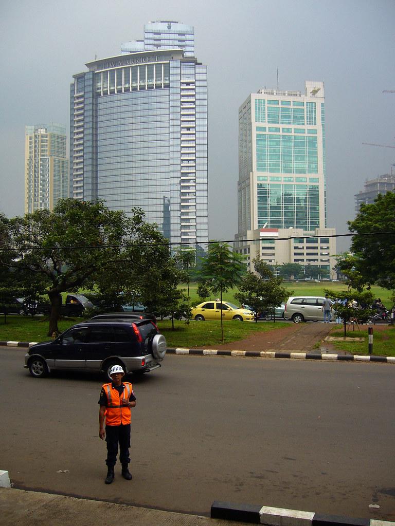 J.W.Marriott Hotel in Jakarta