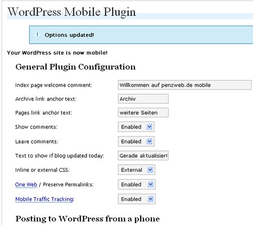 Wordpress-Mobile mit Admob
