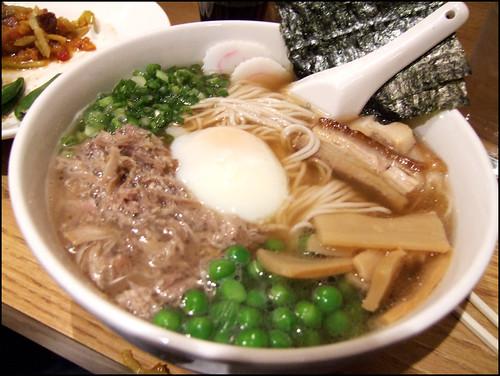 Momofuku (New York) - Momofuku Ramen w/ Berkshire pork combo & poached egg