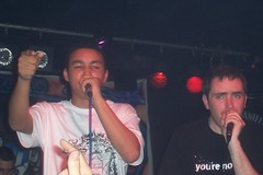 Remus & Chester (Keenooooo) Tags: music brighton dj live mc hiphop rap deejay rapper remus emcee concorde2 taskforce ukhiphop chesterp beerrap