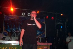 Chester P (Keenooooo) Tags: music brighton dj live mc hiphop rap deejay rapper emcee concorde2 taskforce ukhiphop chesterp beerrap