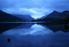 Early Morning Blues at Llannberis Lake (Anthony Thomas [aka wabberjocky]) Tags: blue mountain lake water beautiful sunrise landscape lago blu capture acqua azzurro 5am waterscape naturesfinest thebigone blueribbonwinner supershot instantfave flickrsbest 100comments insesbvbncjkfjgkhjkhbn abigfave anthonythomas anawesomeshot ultimateshot 5oclockinthemorning diamondclassphotographer betterthangood wabberjocky