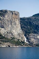 Wapama Falls, Hetch Hetchy Reservoir (Cliff Stone) Tags: california canon landscape yosemite yosemitenationalpark nationalparks hetchhetchy usnationalparks specland canon350drebelxt