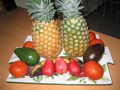 muchas frutas