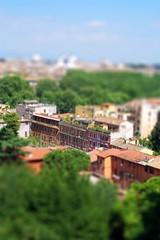 Trastevere (sparky2000) Tags: city italy rome model europe rooftops capital fake trastevere minature europeancity tiltshift capitalcity sparky2000 stuartreynolds stuartrobertsonreynolds robersonreynoldsphotogr