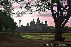 a picture of Angkor Wat