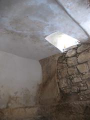 Window in Tomb_2045 (hoyasmeg) Tags: sunlight window grave garden easter israel empty jerusalem tomb pilgrimage crucifixion golgotha calvary resurrection gardentomb views25 hoyasmeg