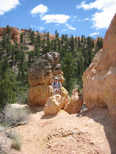 "Fitz in front of a ""little"" hoodoo"