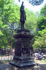 NYC - East Village: Tompkins Square Park - Samuel Sullivan Cox statue by wallyg, on Flickr