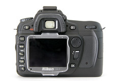 Nikon D80 Digital SLR - Back