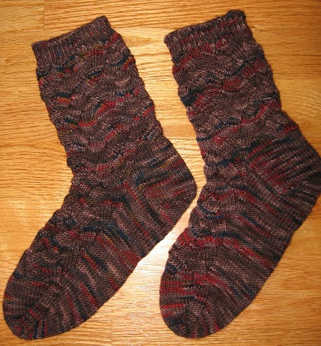 Monkey socks finished