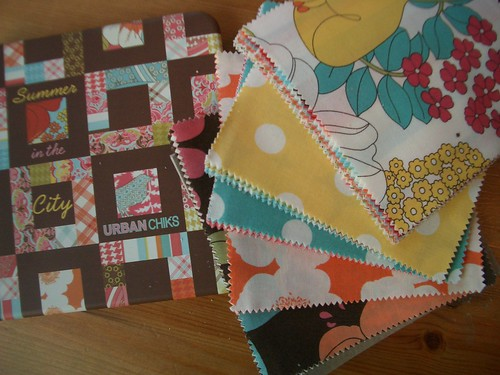 My quilt kit is here