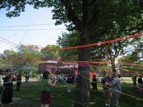 Collective String Webs