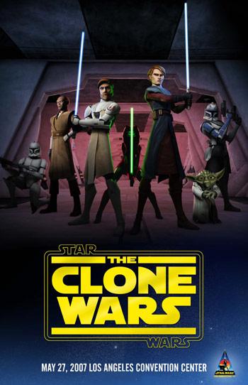 Thumb Star Wars: Poster de Las Guerras Clónicas en CGI