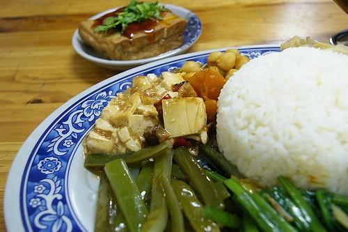 IMGP9402_看到豆腐配白飯,肚子就餓了