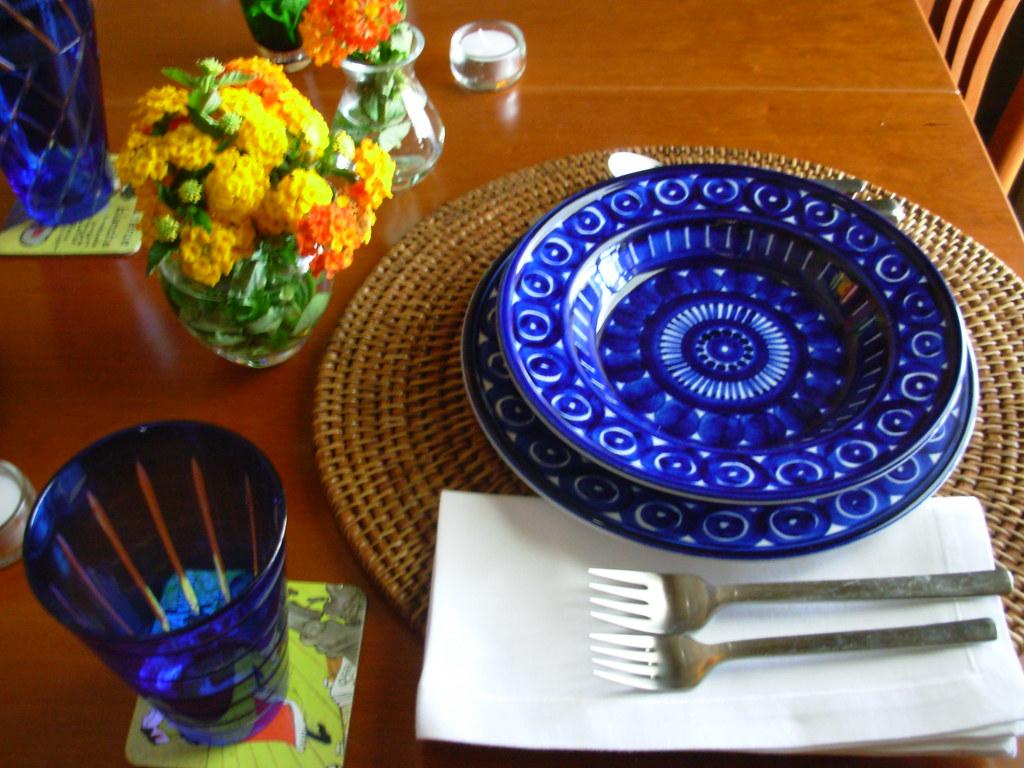 Preparing for Dinner - Mother's Day 2007