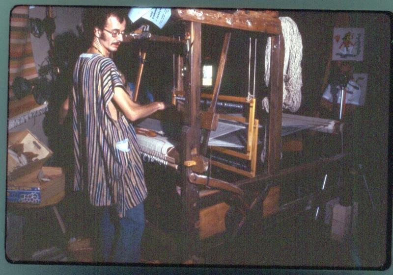 Ancora al telaio nel 1977