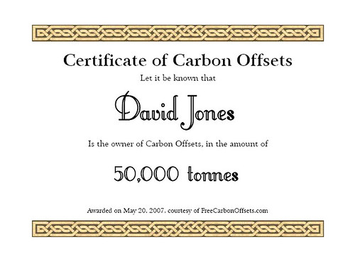 My Carbon Offsets