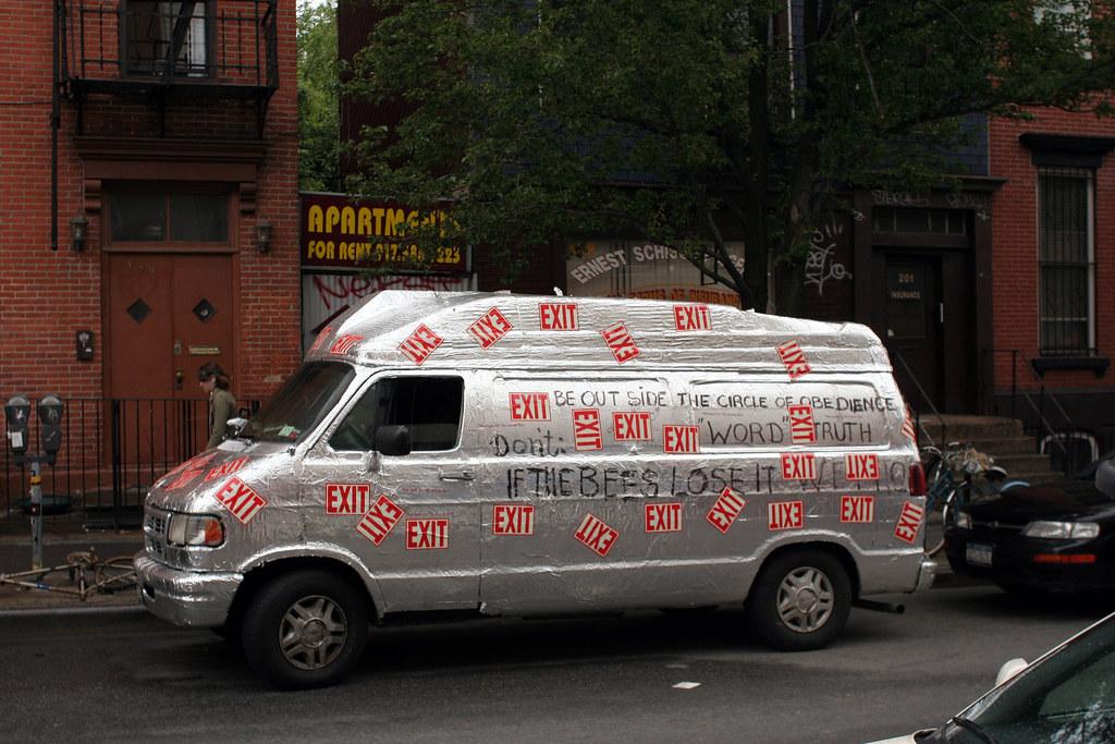 The Exit van