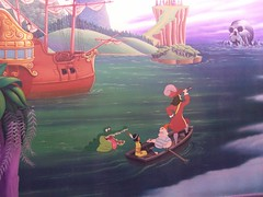Peter Pan's Flight Mural (Bullfrog117) Tags: disneyland peterpan disney fantasyland 20070519