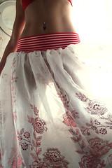 (gleicebueno) Tags: mulher barriga sensual saia transparência anapaula clow palhaça