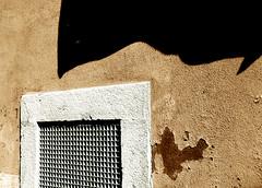 A good day to do laundry (Ha-r-bin) Tags: shadow brown portugal wall vent europe lisbon explore laundry alfama 2007 0702 blueribbonwinner 0709