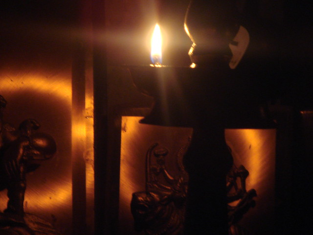 antique oil lamp. | Flickr - Photo Sharing!
