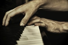 The Piano (Federica Erra) Tags: portrait music art colors hands piano instrumental aplusphoto andreafrancescoberni