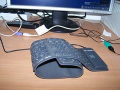 teclado plegable