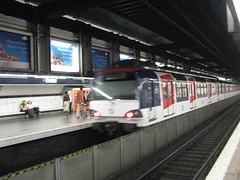 Paris RER A (brunoboris) Tags: paris underground subway publictransit commuterrail etoile ratp rer rera charlesdegaulleetoile