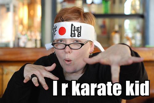 i r karate kid