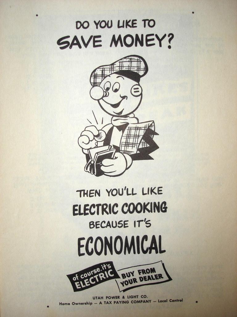 Reddy McKilowatt - Utah Power - 1950