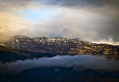 Snow on the TopaTopa Mountains (Nathan Wickstrum) Tags: topatopa mountains ojai snow