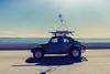Surfing Bug (Darren LoPrinzi) Tags: 5d canon5d fl canon florida miii car drive driving fun funny vw volkswagen bug sun sunshine sunflare sunglare skeleton tampa tampabay tampabayfl bridge