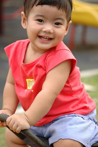 Smiling Aliya