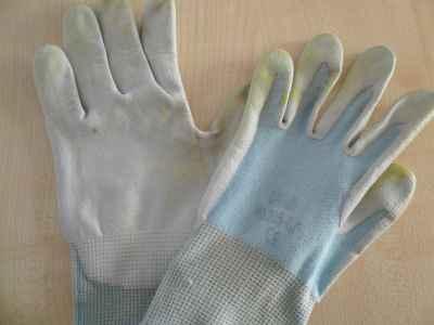 Gartenhandschuhe, gewaschen 1