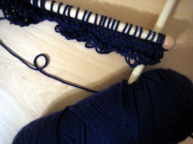 Future Blue Shawl