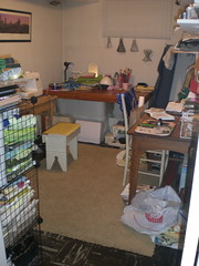 "sewing room ""before"""