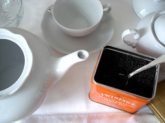ch I (Daniboy) Tags: white twinings teapot teacup porcelain bule ch