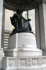 NYC - Bryant Park: William Cullen Bryant statue - by wallyg