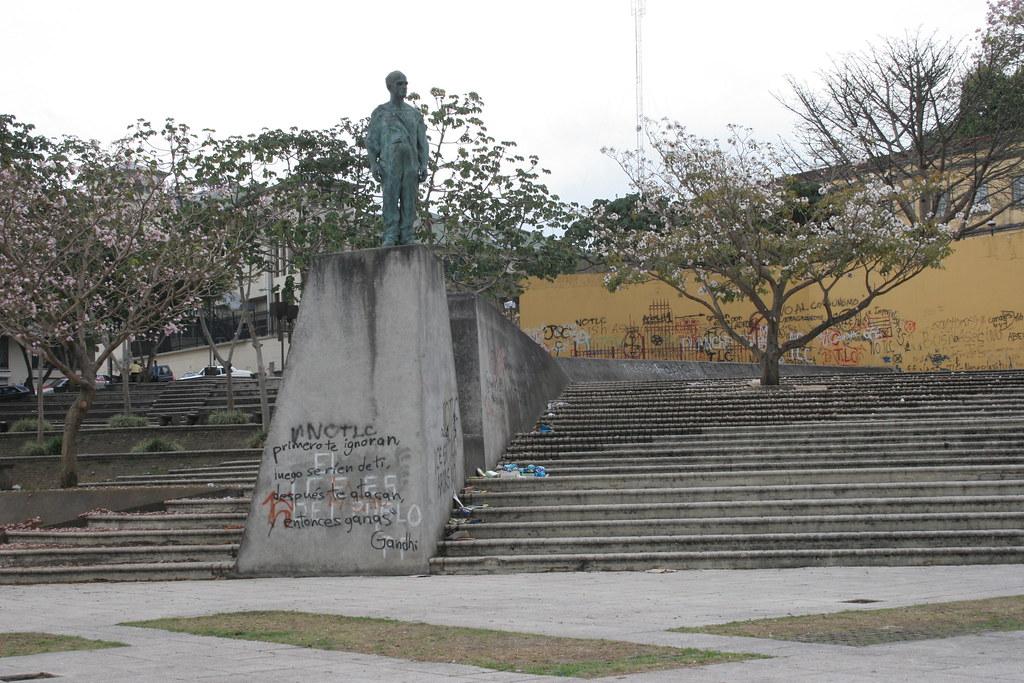 Plaza de la Democracia, San Jose, Costa Rica