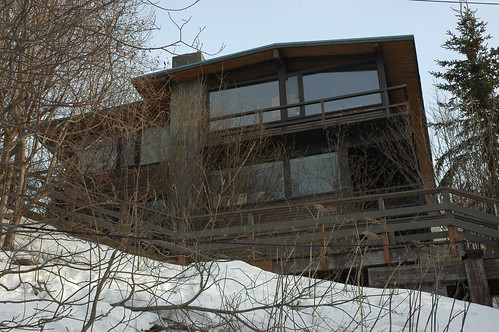 The Cliff House, Anchorage, Alaska architect Roland H. Lane