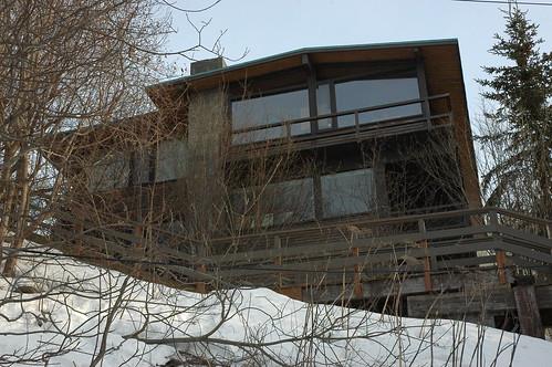 The Cliff House, Anchorage, Alaska architect Roland H. Lane