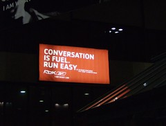 Reebok, conversation is fuel