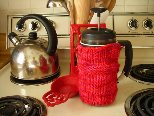French Press Cozy by staraless / Flickr