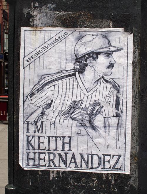 I'm Keith Hernandez poster
