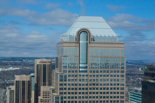 Bankers hall from the Calgary Tower