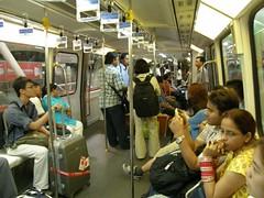 63.KL Monorail的車廂內裝