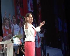 Meeting de Ségolène Royal à Montpellier