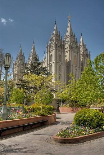 Salt Lake Temple HDR